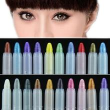 2016 New Waterproof Eyeliner Pencil Crystal Bright Comestics Eye Liner Tools For Cosmetics Makeup 1 piece CSDS(China (Mainland))