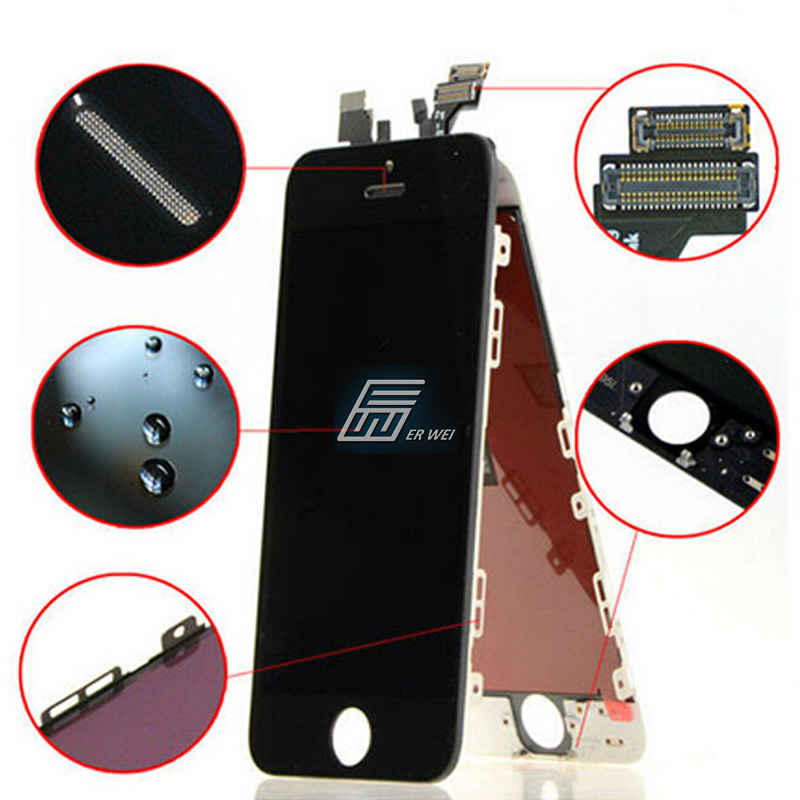 wholese mobile phone spare parts replacementfor iphone 6 lcd complete, Original for iphone 6 lcd screen digitizer(China (Mainland))