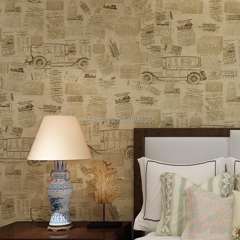 hohe qualit t gro handel zeitung tapete aus china zeitung. Black Bedroom Furniture Sets. Home Design Ideas