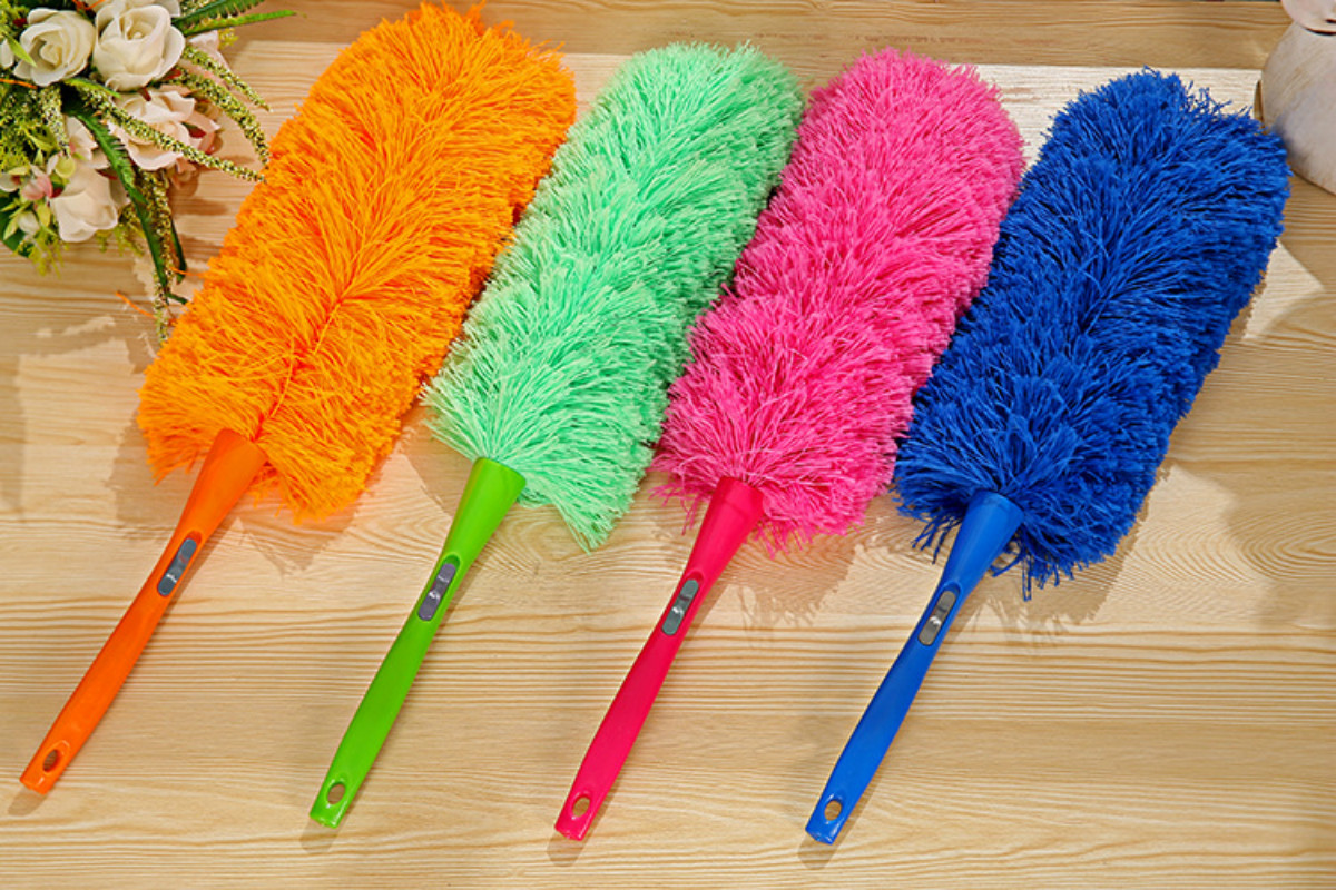 New Magic Anti Static Cleaner Feather Duster Hygienic Cleaning Dust Dusters Free Shipping 5ZCF166(China (Mainland))