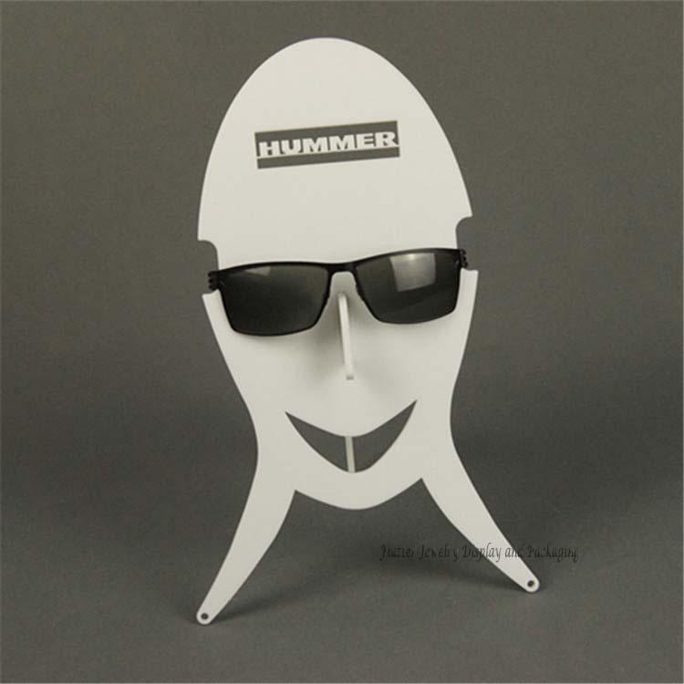 Newest Acrylic Sunglass Display Rack Eyewear Holder Smile Face-Model Showing Rack Glasses Display Shelf(China (Mainland))