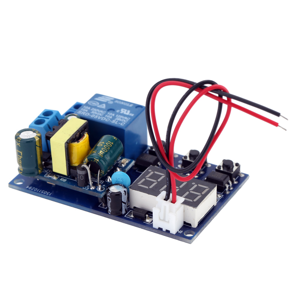 Hot Sale Digital Timer Module Automation Delay Timer 220V Low Level Efficient Control Relay Switch Module LED Display(China (Mainland))