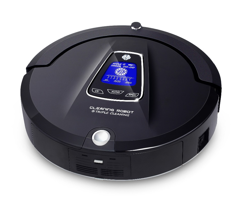 Most Advanced Multifunction Robot Vacuum Cleaner for Home A335 (Sweep,Vacuum,Mop,Sterilize),Schedule,Virtual Blocker,Self Charge(China (Mainland))