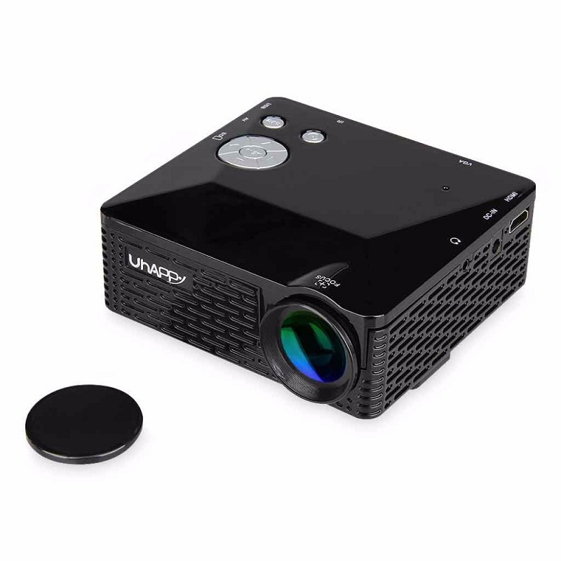 Mini led projector bl 18 portable pico projektor 60lumen for Small video projectors reviews