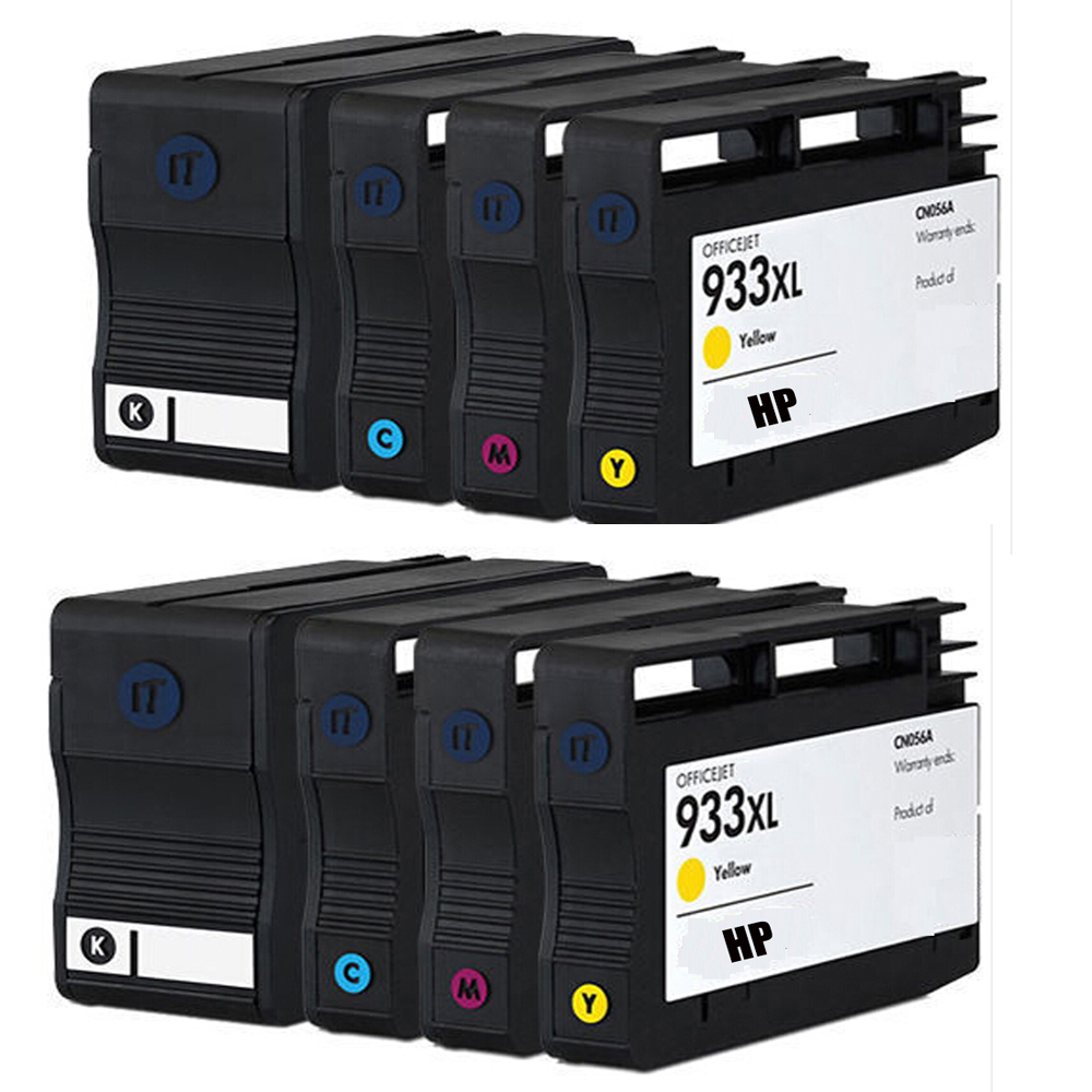 932 933 932xl 933xl Compatible Ink Cartridge For hp Officejet 6100 6600 6700 7110 7610 7612 printers with upgrade Chip,<br><br>Aliexpress