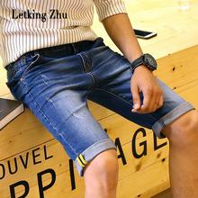 Free Shipping 2016 Summer Men plus Short Jeans Men's Fashion Shorts Men Big Sale Summer Clothes Brand homme Short Pants 001