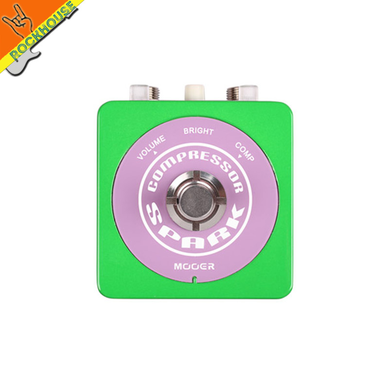 NEW MOOER Spark  Compressor guitar Effect Pedal control the dynamic less loss of tone minimum pedal ture bypass free shipping