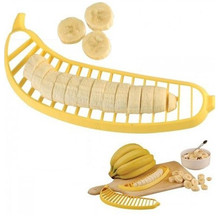 Banana Slicer Chip device Chopper Cutter Vegetable Tools Fruit Salad Sundaes Cereal Kitchen Accessories Cooking Tools