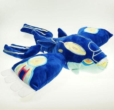 "Pokemon XY Mega Kyogre 19"" Stuffed Animal Nintendo Plush Soft Toy Doll Anime Animal Stuffed Plush Toys(China (Mainland))"