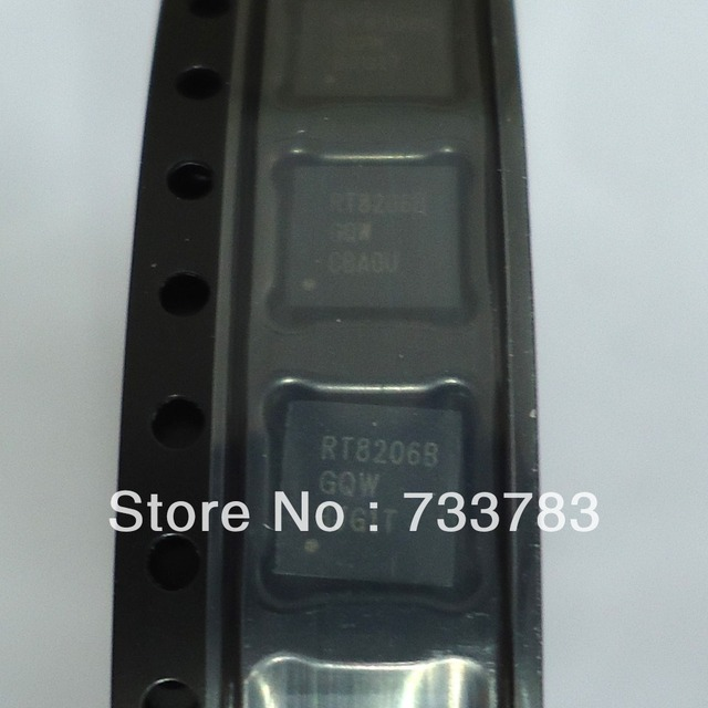 20pcs RT8206BGQW  RT8206B  High Efficiency, Main Power Supply Controllers for Notebook Computers