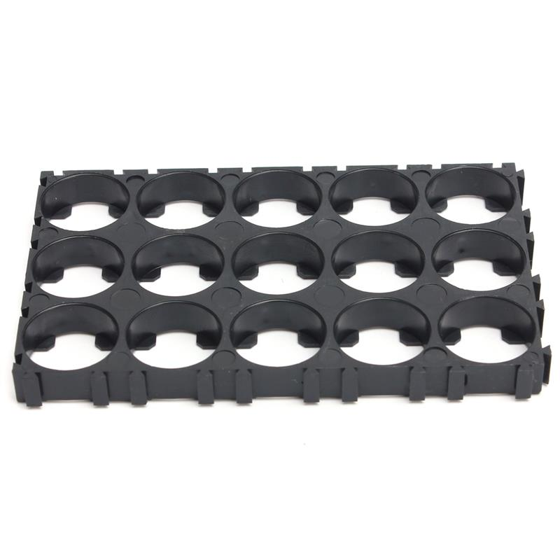 image for Hot Sale 18650 Battery Holder Bracket ABS Material Anti Vibration Cyli