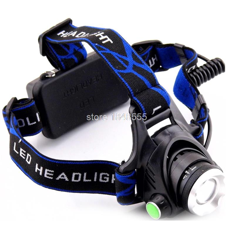 Cree Q5 Led Headlamp Rechargeable Zoomable Head Light Lamp Torch Flashlight Head Linternas for Fishing Camping Hunting<br><br>Aliexpress