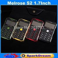 Original Melrose S2 Mini Phone With MP3 Camera Bluetooth Ultra-thin 1.7Inch Outdoor Shockproof Dustproof Phone