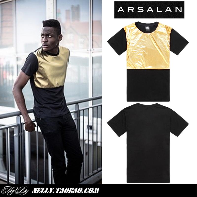 Popular Gold T Shirts Men-Buy Cheap Gold T Shirts Men lots from ...