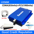 Lintratek Cell Phone Signal Booster CDMA PCS Signal Repeater GSM 850 1900 Dual Band Amplifier Signal
