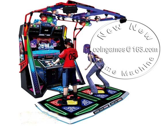 2016 New Amusement Equipment Arcade Coin Operated Simulator E Famous Music Dance Games Machines(China (Mainland))