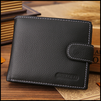 New arrival genuine leather coin wallet men famous brand mens wallet with coin pocket carteira masculina couro(China (Mainland))