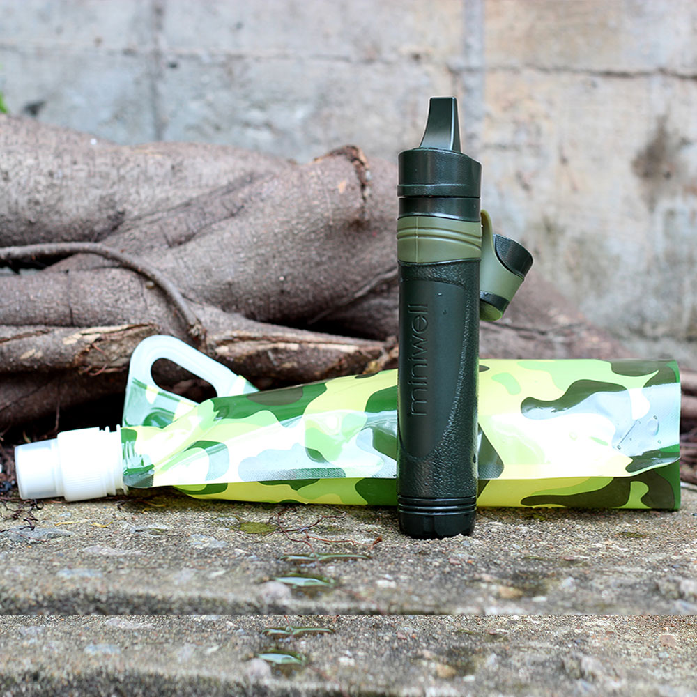 Hiker Microfilter Outdoor Sport Water Filter Straw Travel Kits(China (Mainland))