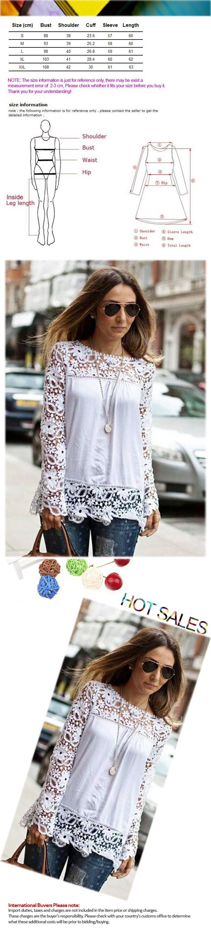 Женские блузки и Рубашки  Lace Shirt