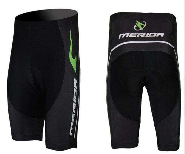 Hot! Merida Green fire Cycling Shorts Team Cycling clothing //bike bicycle Cycling jersey short sleeve/ Cycling wear