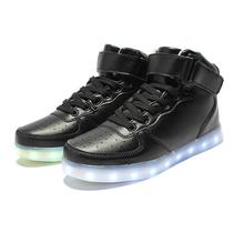LED Women Lumineux Chaussure Homme Adults Light Up Femme Lumineuse Schuhe Schoenen Couples Casual Men Shoes For Man(China (Mainland))