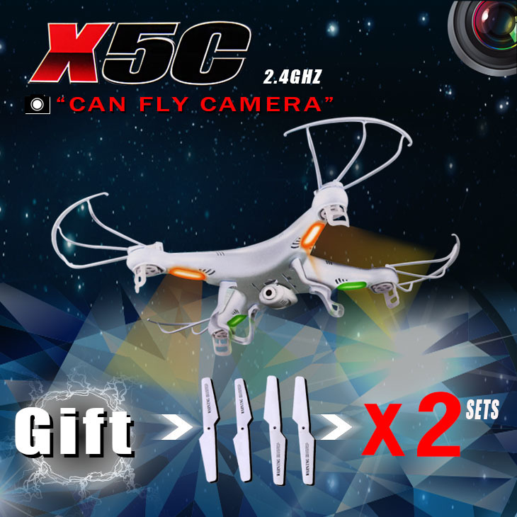 High quality Original SYMA X5C X5C-1 4CH 2.4G RC drone with camera HD 2MP Quadcopter Aircraft Toys vs X5S X5SC-1 X5SW-1 X5A X400(China (Mainland))