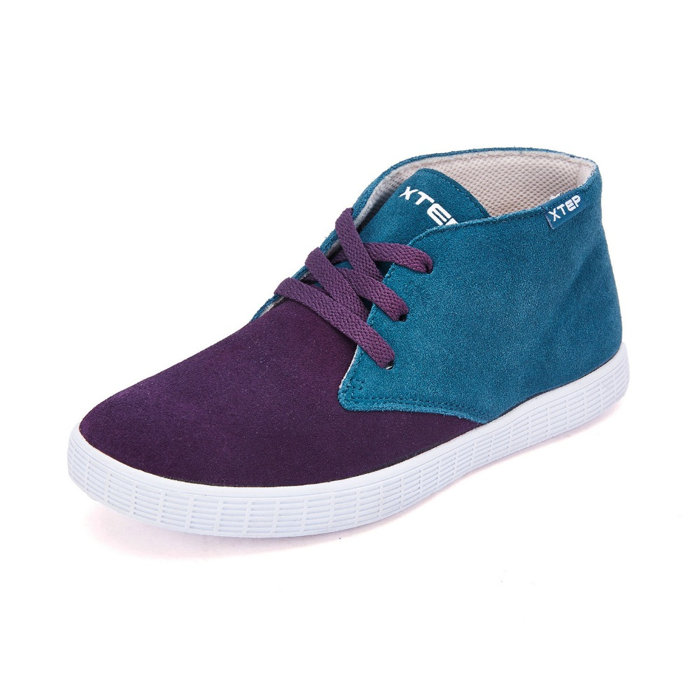 XTEP Original Womens Skateboarding Shoes Classic High top Sneakers Fashion Skater Shoes Sports Shoes for women 987318312295<br><br>Aliexpress