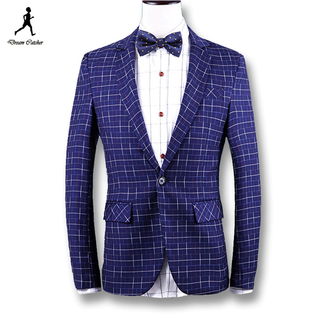 2016 новые люди блейзеры и куртки костюмы мужская свободного покроя мода уменьшают ...