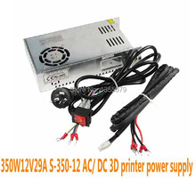 3D printer 350W12V29A S-350-12 AC/ DC Switching power supply Small size