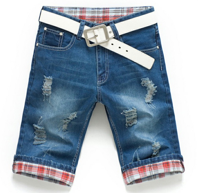 Как из старых джинсов сделать мужские шорты из джинс 377