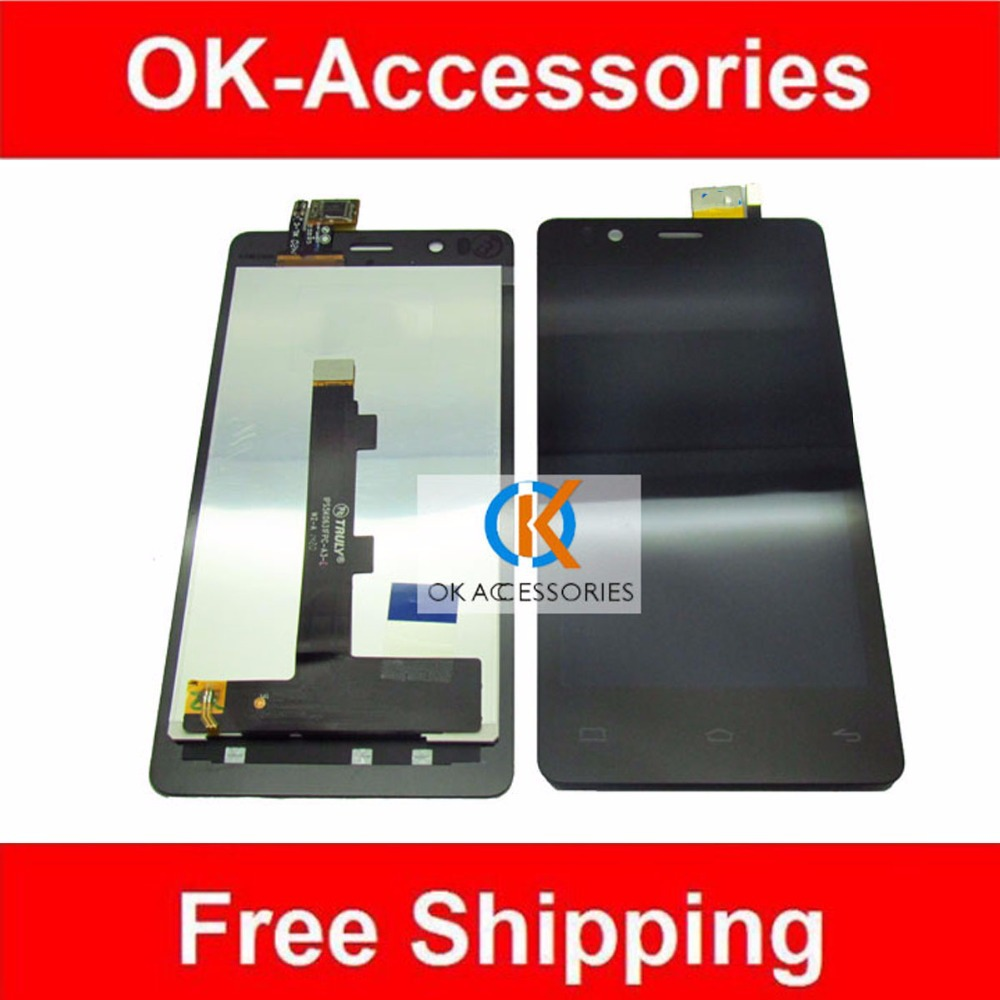 For BQ Aquaris E4.5 IPS5K0631FPC-A3-E LCD Display + Touch Screen Digitizer Assembly 1PC/Lot Free Shipping