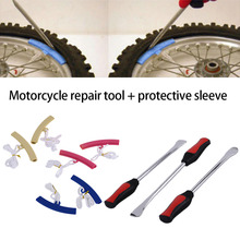 2016 New a set Plastic Wheel Rim Protector for Passenger Car & Motorcycle Edge Protectors Tyre Tire Repairing Tool hot selling(China (Mainland))