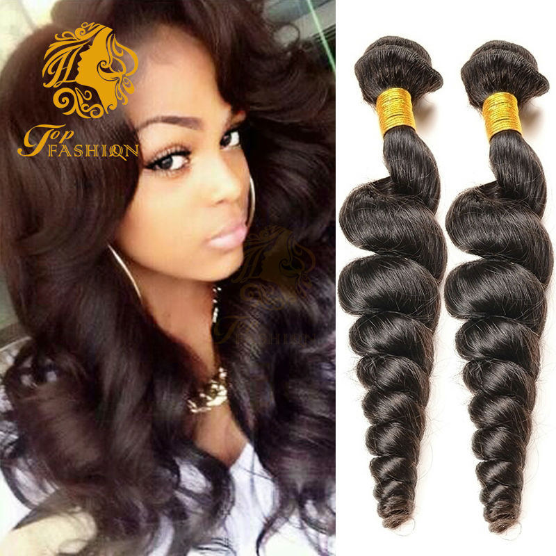 Peruvian Loose Wave 7A Unprocessed Virgin Hair 2 Bundles Ms Lula Peruvian Virgin Hair Loose Wave Wet And Wavy Human Hair Weaves