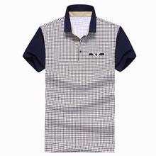 top brand polo shirt 2015 summer style short sleeve cotton plaid tops lacote men polos shirts homme plus size XXXL camisa tees