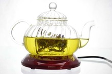 2013 new heat-resistant glass tea set tea pot pumpkin pot flowers