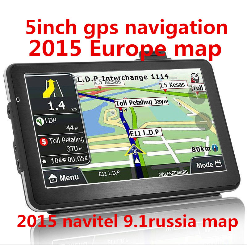 5 дюймов автомобильный GPS навигатор, Mstar800mhz, Ddr128m  4 ГБ, Fm,    , Навител ( RU + UKR + BLR + каз )