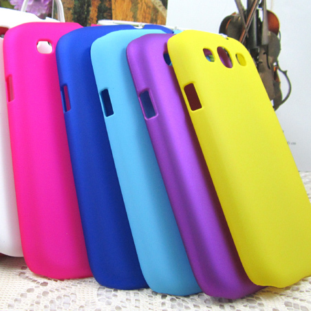 Sale 2014 Hot New Case Frosted / Hard / Jelly / Soft Silicone Casing for Galaxy S3 Free Shipping(China (Mainland))
