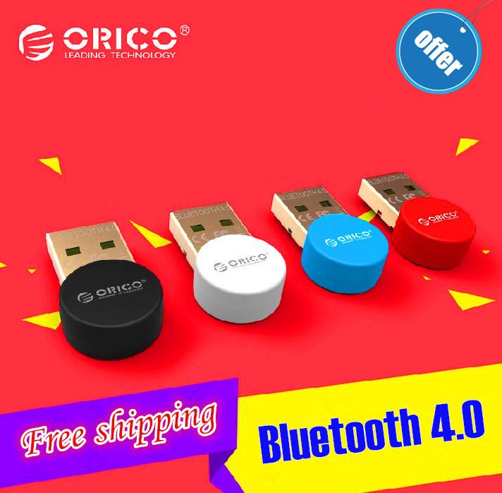 NEW ORICO BTA-406 USB Bluetooth 4.0 Adapter Dongle Adapter usb2.0 CSR8510A10 Chip Support OS Windows XP/Vista/7/8 free shipping(China (Mainland))