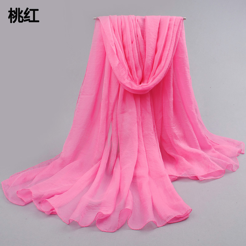 2016 New Fashion 20 Colors Women Scarf Vintage Ladies Solid Color Black Red White Scarves Warp summer women's scarf long shawl(China (Mainland))