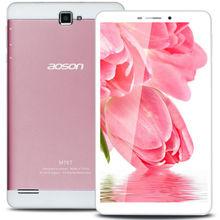 Розовый 7 » Android планшет PC оригинальный Aoson M76T MTK8392 Octa ядро 3 г таблетки 2 ГБ оперативной памяти 16 ГБ ROM 8MP две камеры IPS экран