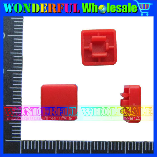 Square Switch Cap Red Square Key Cap For
