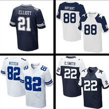Wholesale cheap #4 Dak Prescott #21 Ezekiel Elliott #88 Dez Bryant #82 Jason Witten #22 Emmitt Smith #50 Sean Lee Stitched(China (Mainland))