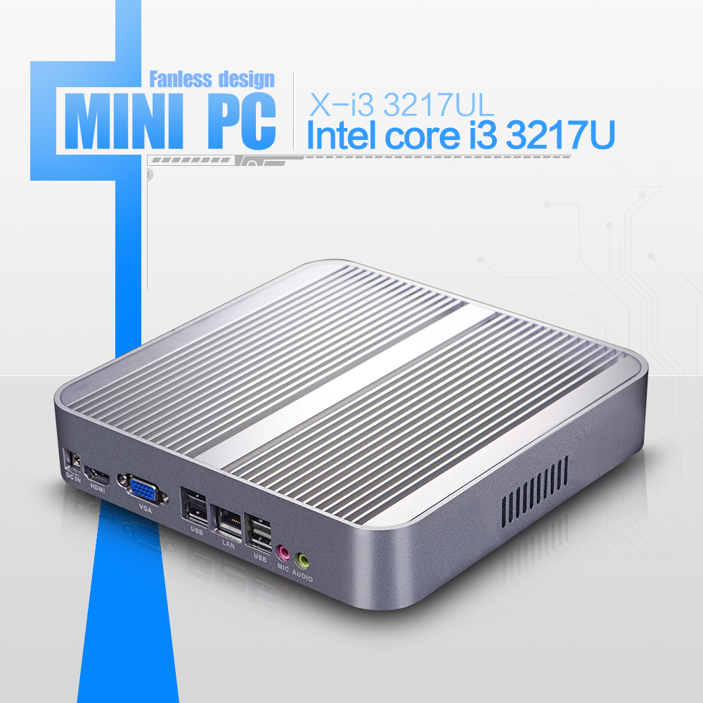 Hot On Sale I5 3317u 8gb Ram 128gb Ssd Mini Linux Embedded Pc Industrial Computer Thin Client Support Win 7 Xp System(China (Mainland))