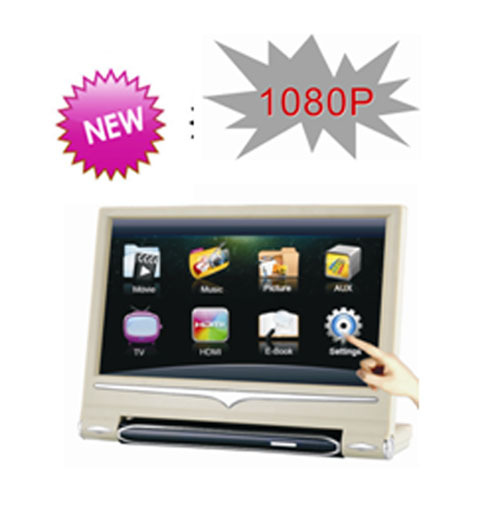 9 Inch high definition Active Headrest Car Monitor Player 1080P(China (Mainland))