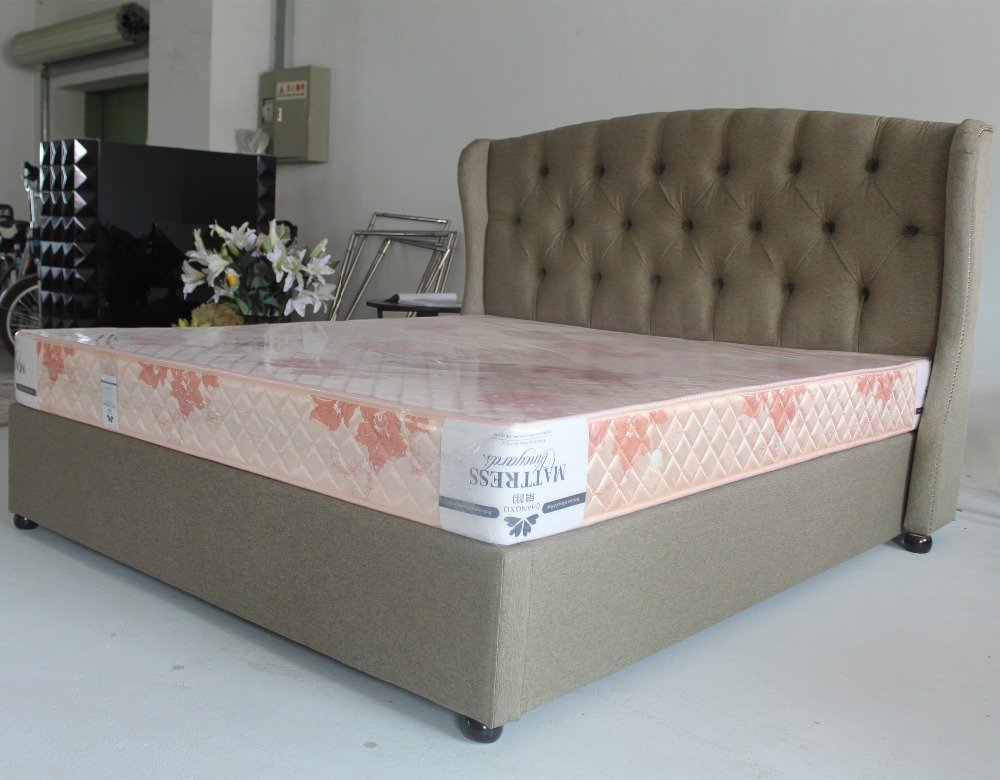 Luxury modern bedroom furniture home bed with gas lift mechanism(China (Mainland))