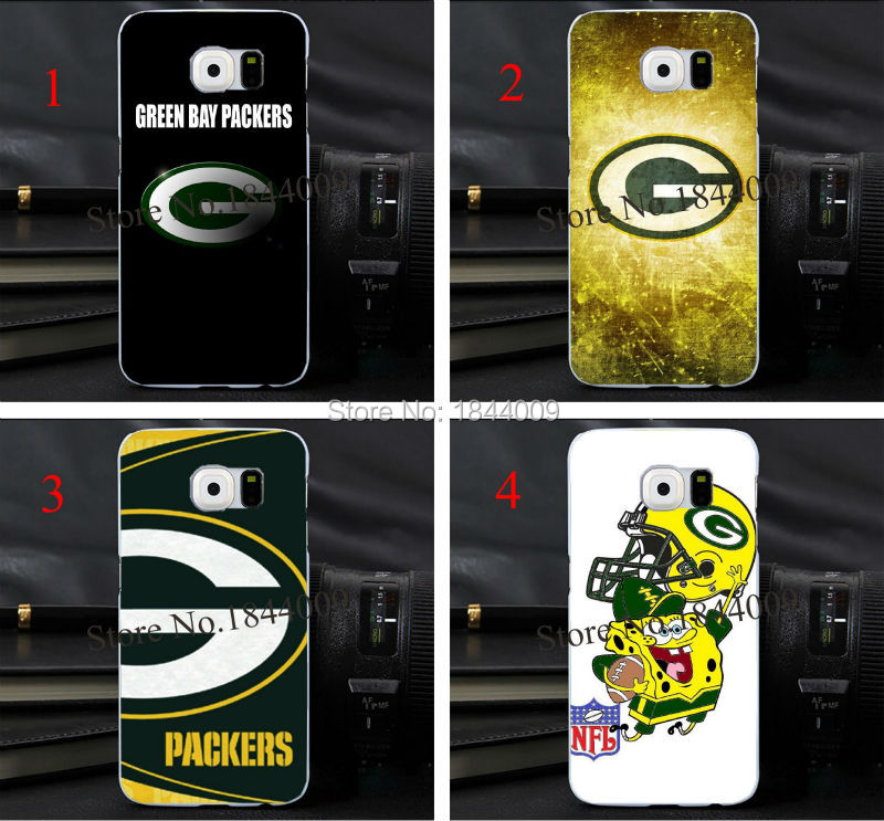 nfl The green bay packers Style Hard Skin Transparent Cover Case for samsung galaxy s3 s4 s5 s6 s6Edge(China (Mainland))
