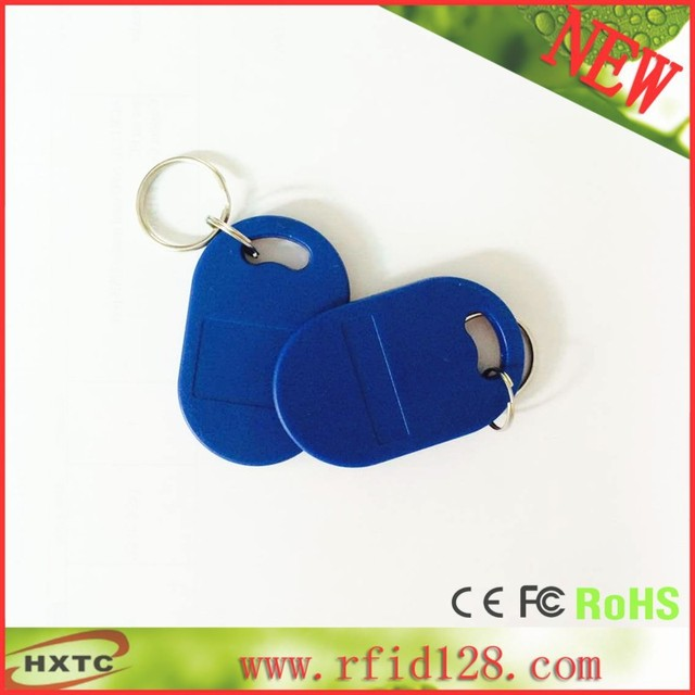 10PCS /Lot 13.56MHz RIFD Smart IC Keyfob/Tag/Card /KeyChain For Parking system /Attendance System/Channel Access Control System