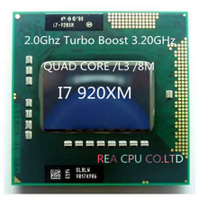 Buy new arrive core deluxe I7 920XM laptop CPU Turo Boost 2.0 3.2G/ l3 /8M quad core Eight threads 55w tdp p988 socket for $70.97 in AliExpress store