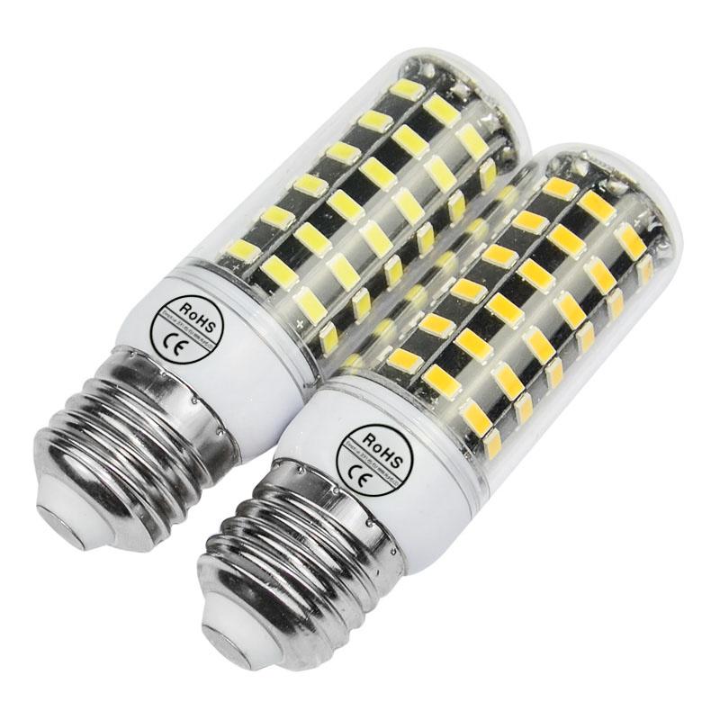 Newest Smart IC 5735SMD 70 80 90leds 5730 led lamp bombillas 220V Lampada LED Light E14 E27 Chandelier led bulb(China (Mainland))