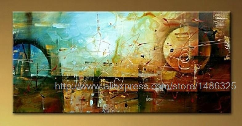 Large Hand Painted Abstract Oil Painting On Canvas Large Canvas Wall Painting Acrylic Paint By Number Large Canvas Wall(China (Mainland))